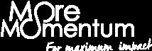 MoreMomentum Logo white