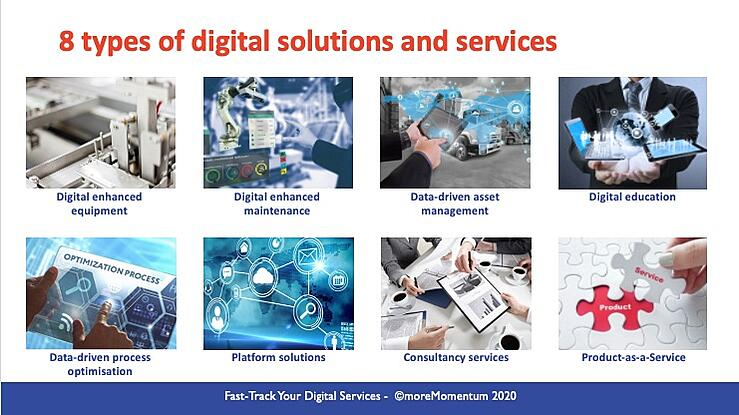 8 types of digital services manufacturers can offer
